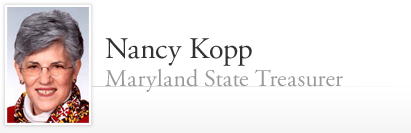 Nancy Kopp - Maryland State Treasurer